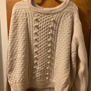 j.crew wool knit sweater.